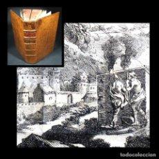 Libros antiguos: AÑO 1735 ALEJANDRO MAGNO SEÑALES DE HUMO HISTORIA ANTIGUA GRECIA PERSIA GRABADO DESPLEGABLE. Lote 117936523