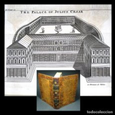 Libros antiguos: AÑO 1780 EL PALACIO DE JULIO CÉSAR HISTORIA DE LA ANTIGUA ROMA POMPEYO CARTAGO GRABADOS DESPLEGABLES. Lote 195785288