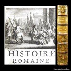 Libros antiguos: AÑO 1737 EMPERADORES ROMANOS NINGUNO EN ESPAÑA GRABADO HISTORIA ROMANA DE ECHARD ANTIGUA ROMA . Lote 195847771