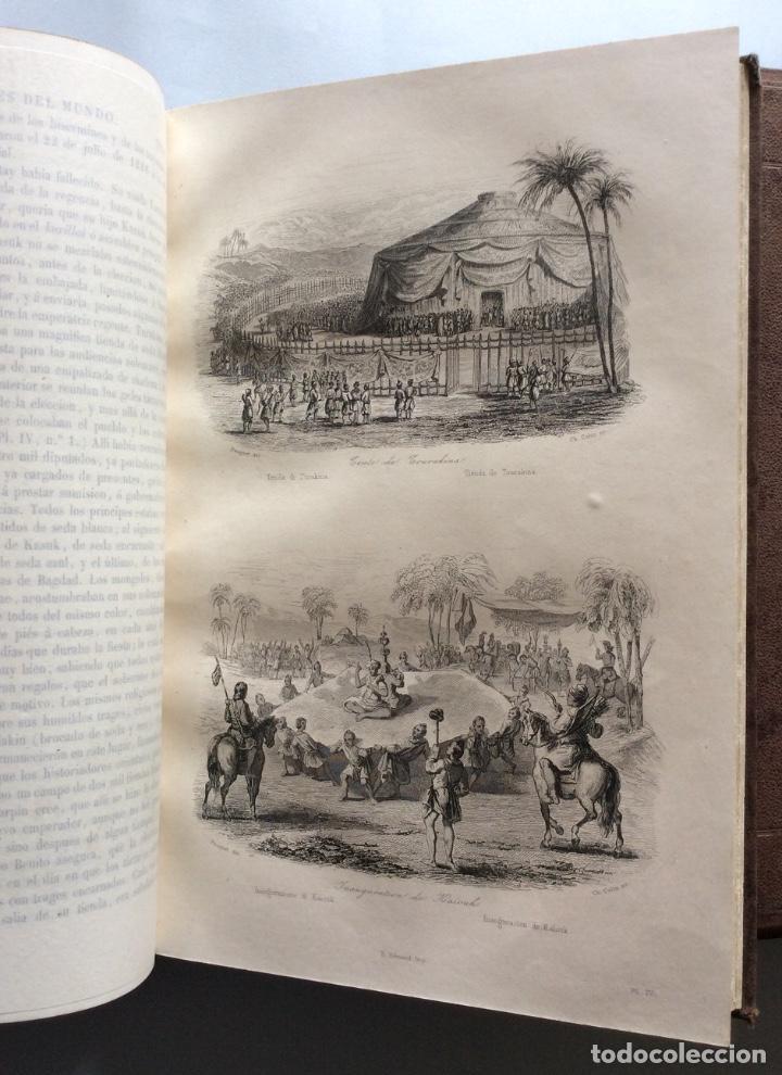 Libros antiguos: Historia General de la Misiones desde el siglo XIII hasta nuestros días .HENRION,1863-3 Tomos - Foto 4 - 195728931