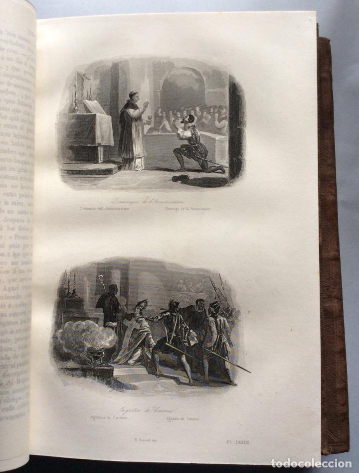 Libros antiguos: Historia General de la Misiones desde el siglo XIII hasta nuestros días .HENRION,1863-3 Tomos - Foto 7 - 195728931
