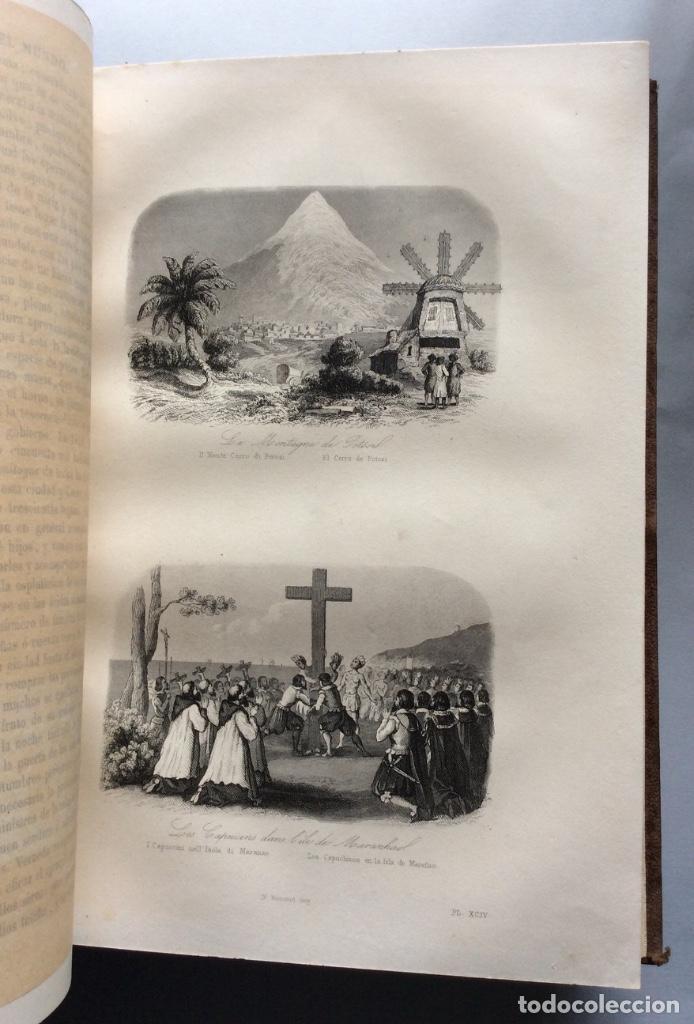Libros antiguos: Historia General de la Misiones desde el siglo XIII hasta nuestros días .HENRION,1863-3 Tomos - Foto 8 - 195728931