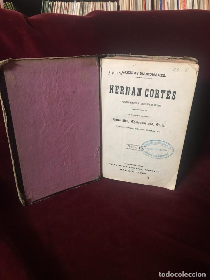 Libros antiguos: Hernan Cortés - Foto 2 - 195992545