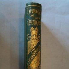 Libros antiguos: HISTORIA DE LOS SARRACENOS. ARTURO GILMAN. 1889. Lote 196390261