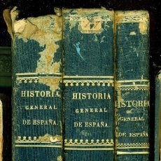 Libros antiguos: HISTORIA GENERAL DE ESPAÑA, PADRE JUAN DE MARIANA, 1852-1853. Lote 196909017