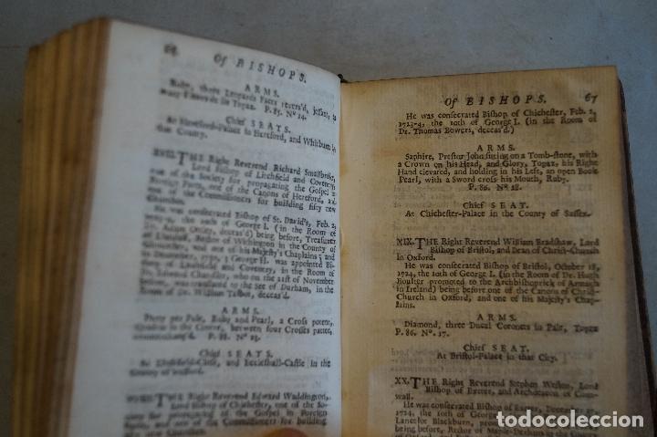 Libros antiguos: THE BRTITISH COMPENDIUM OR RUDIMENTS OF HONOUR. 1731 - Foto 4 - 197471362