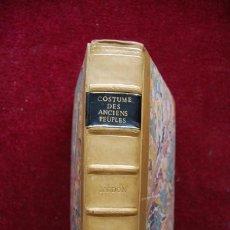 Libros antiguos: COSTUME DES ANCIENS PEUPLES, TOMO I, 1772. ANDRÉ-BARDON. POSEE 179 GRABADOS. Lote 197829993