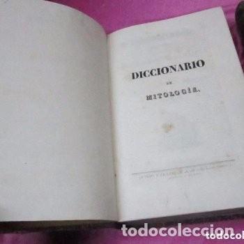 Libros antiguos: MITOLOGIA Y DE LA FABULA DICCIONARIO UNIVERSAL 2 COMPLETO 1835 JOSE TAULO - Foto 13 - 198110752