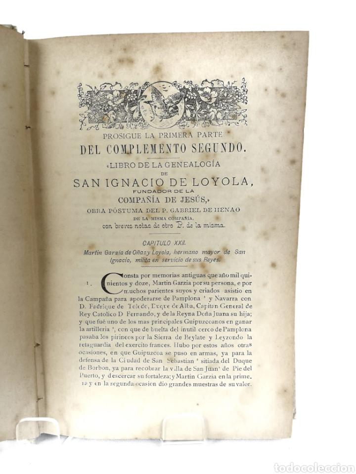 Libros antiguos: Averiguaciones de las antigüedades de Cantabria. - Foto 6 - 198832795