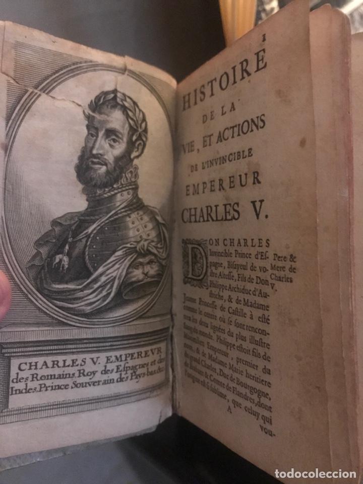 Libros antiguos: Historia Carlos V. Juan Antonio Vera y Figueroa. Bruselas 1663 - Foto 2 - 199053381