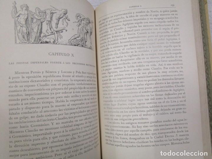 Libros antiguos: NERÓN, ESTUDIO HISTÓRICO - EMILIO CASTELAR - EDI MONTANER Y SIMÓN1892 TOMO II + INFO - Foto 4 - 199115103