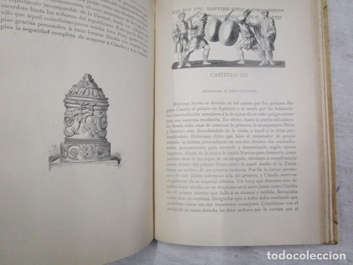 Libros antiguos: NERÓN, ESTUDIO HISTÓRICO - EMILIO CASTELAR - EDI MONTANER Y SIMÓN 1891 TOMO I + INFO - Foto 6 - 199115827