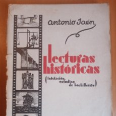 Libros antiguos: LECTURAS HISTÓRICAS CÓRDOBA 1935 ANTONIO JAÉN. Lote 199512131