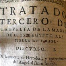 Libros antiguos: EGIPTO A LA TIERRA DE ISRRAEL. Lote 200513717