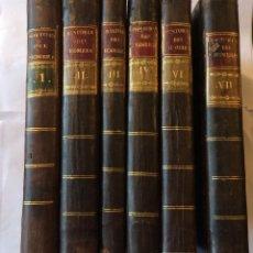 Libros antiguos: LIBROS ANTIGUOS: HISTORIA DE LA VIDA DEL HOMBRE. - HERVÁS Y PANDURO,1789-(FALTA TOMO V). Lote 201114388