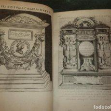 Libros antiguos: AUGUSTARUM IMAGINES AEREIS ..., 1619. ENEA VICO. POSEE 63 GRABADOS. Lote 201620316