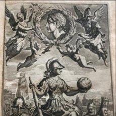 Libros antiguos: Q. CURTII RUFI ALEXANDER MAGNUS...., 1708. QUINTUS CURTIUS RUFUS/PITISCI. CON GRABADOS Y MAPAS. Lote 201834641