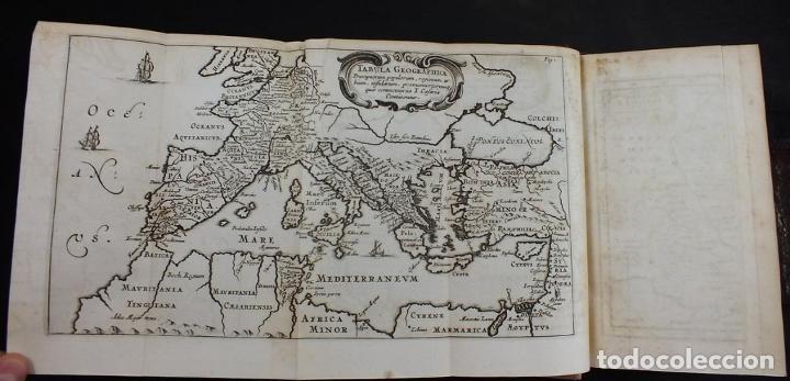 Libros antiguos: C. Julii Cæsaris quæ extant omnia.., 1713. Julio César. Frontispicio, grabados y mapas - Foto 6 - 201839792