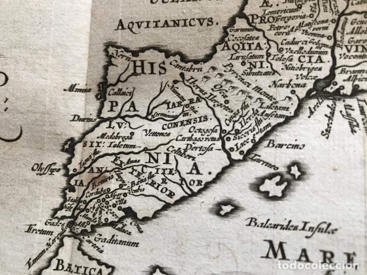 Libros antiguos: C. Julii Cæsaris quæ extant omnia.., 1713. Julio César. Frontispicio, grabados y mapas - Foto 32 - 201839792