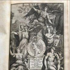 Libros antiguos: C. JULII CÆSARIS QUÆ EXTANT OMNIA.., 1713. JULIO CÉSAR. FRONTISPICIO, GRABADOS Y MAPAS. Lote 201839792