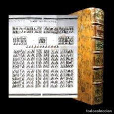 Libros antiguos: AÑO 1769 MÁQUINAS DE GUERRA ROMANAS CATAPULTA CAMPAMENTO HISTORIA ANTIGUA ROMA GRABADO ROLLIN. Lote 109120923