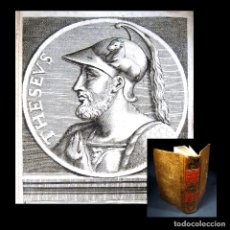 Libros antiguos: AÑO 1684 ATENAS TEMÍSTOCLES ESPARTA ROMA RÓMULO VIDAS PARALELAS PLUTARCO ANTIGUA GRECIA GRABADOS T1. Lote 109508091
