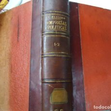 Libros antiguos: EMPRESAS POLITICAS·PRINCIPE POLITICO - AÑO 1845 - SAAVEDRA FAJARDO - ILUSTRADO. EMPRESAS POLITICAS. Lote 203168477