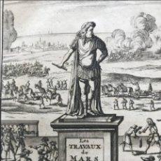 Libros antiguos: LES TRAVAUX DE MARS OU L'ARTE DE LA GUERRE, TOMO I, 1696. ALLAIN MANESSON MALLET. Lote 203235015