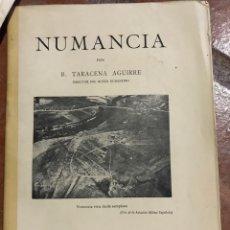 Libros antiguos: NUMANCIA POR B. TARACENA AGUIRRE 1929. Lote 203550958