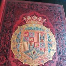 Livros antigos: ESPAÑA SUS MONUMENTOS Y ARTES SU NARURALEZA E HISTORIA GRANADA JAEN MALAGA Y ALMERIA 1885. Lote 203615178