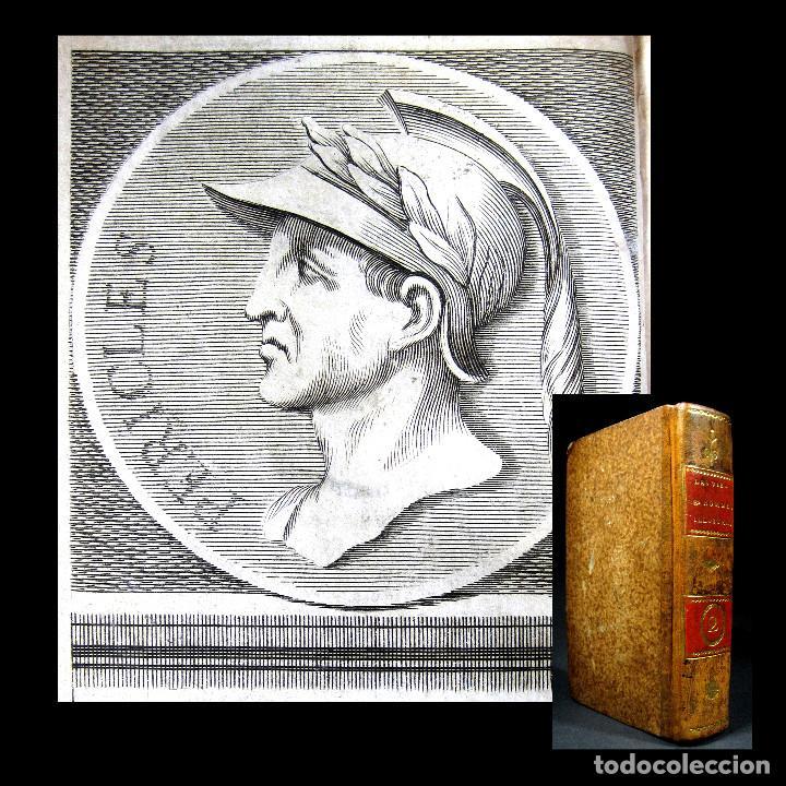 AÑO 1684 PERICLES ARÍSTIDES CATÓN EL CENSOR ANTIGUA GRECIA Y ROMA PLUTARCO VIDAS PARALELAS GRABADOS (Libros antiguos (hasta 1936), raros y curiosos - Historia Antigua)