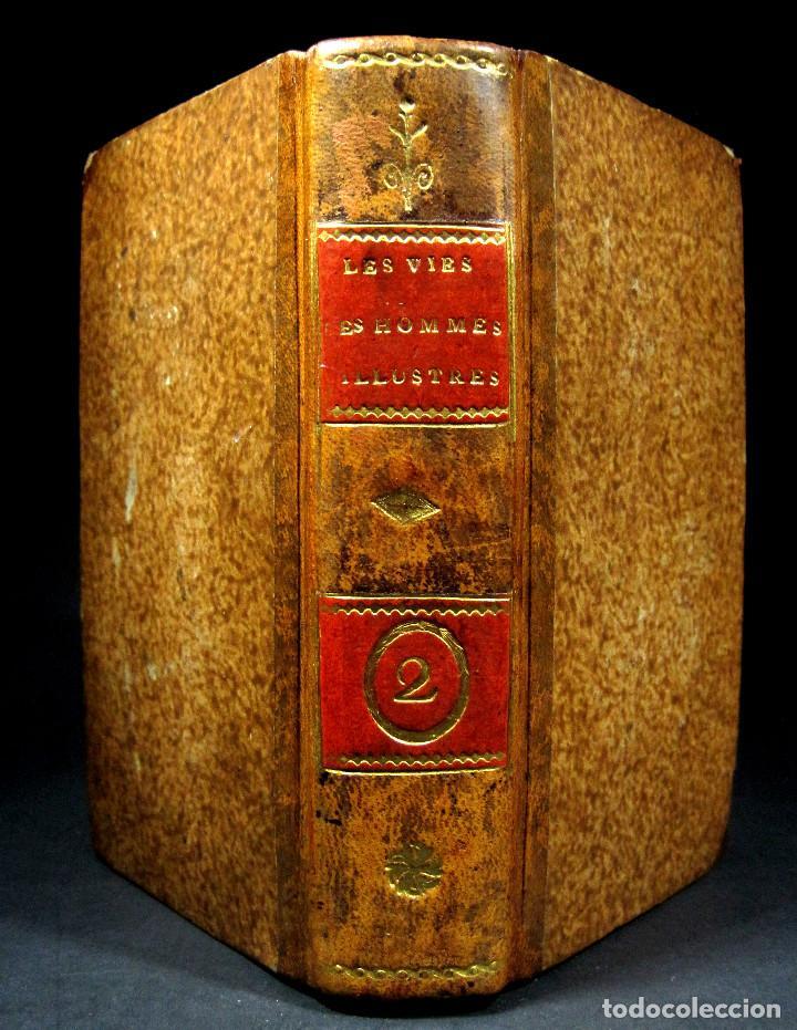 Libros antiguos: Año 1684 Pericles Arístides Catón el Censor Antigua Grecia y Roma Plutarco Vidas paralelas Grabados - Foto 4 - 203789788