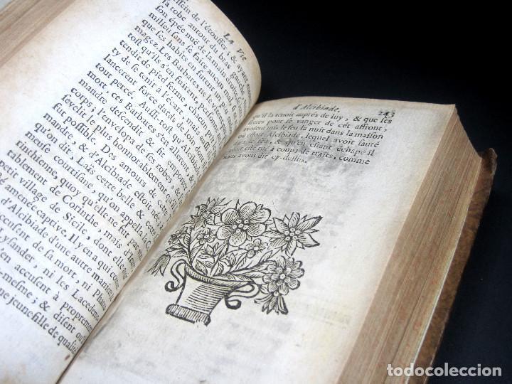Libros antiguos: Año 1684 Pericles Arístides Catón el Censor Antigua Grecia y Roma Plutarco Vidas paralelas Grabados - Foto 19 - 203789788