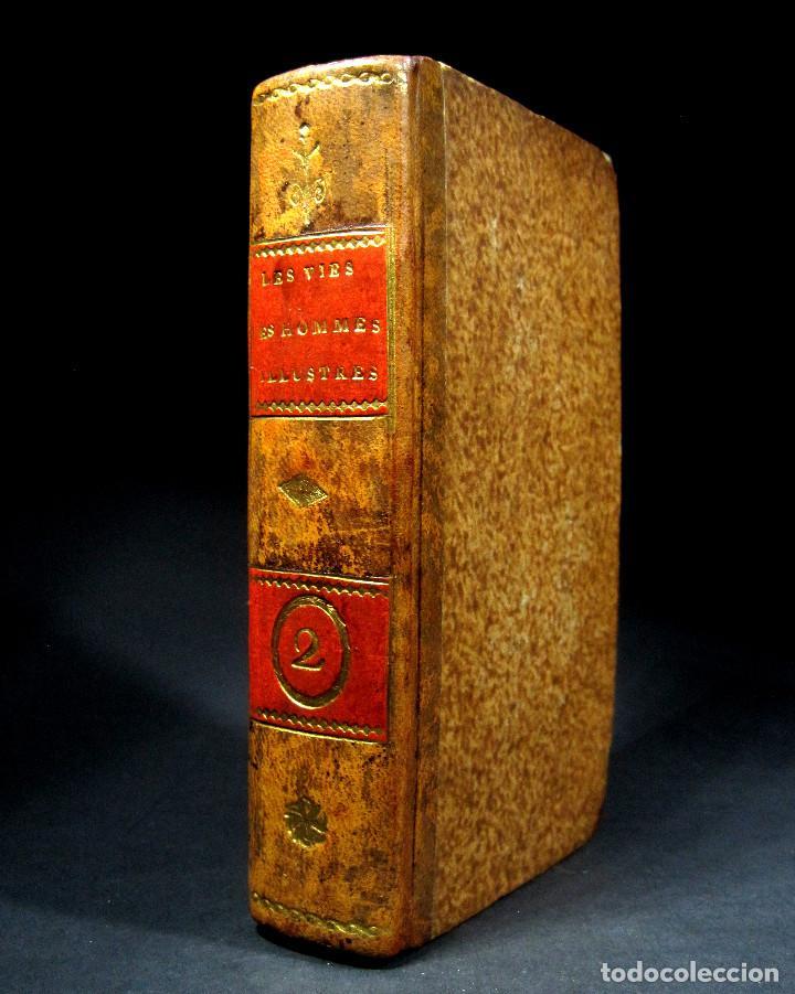 Libros antiguos: Año 1684 Pericles Arístides Catón el Censor Antigua Grecia y Roma Plutarco Vidas paralelas Grabados - Foto 27 - 203789788