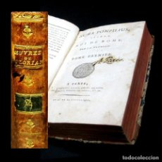 Libros antiguos: AÑO 1794 NUMA POMPILIUS SEGUNDO REY DE ROMA OBRA COMPLETA 2T EN 1V ANTIGUA ROMA MITOLOGÍA FLORIAN. Lote 203789956