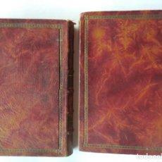 Libros antiguos: HISTORIA DE LAS GUERRAS DE LOS JUDÍOS POR FLAVIO JOSEFO. DOS TOMOS 1891. Lote 203932785
