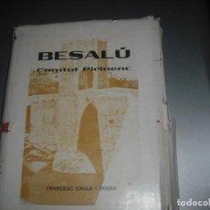 Libros antiguos: CAULA VEGAS FRANCESC BESALÚ COMTAT PIRINENC. Lote 204001433