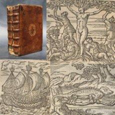 Libri antichi: 1602 - ANDREA ALCIATO - EMBLEMATA - LIBRO DE EMBLEMAS - MÁS DE 100 GRABADOS. Lote 204079213