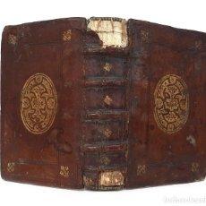 Libri antichi: 1560 - VIDAS DE LOS FILÓSOFOS ILUSTRES - DIÓGENES LAERCIO - PRECIOSA ENCUADERNACIÓN RENACENTISTA. Lote 204668666