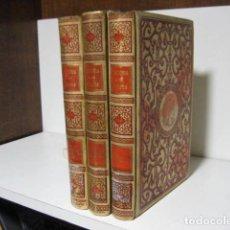 Libri antichi: 1890 - VICTOR DURUY - HISTORIA DE LOS GRIEGOS - 3 TOMOS, MONTANER Y SIMÓN. Lote 205386860