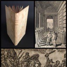 Libros antiguos: AÑO 1715 - CORNELIO NEPOTE - VIDA DE LOS VARONES ILUSTRES - GRECIA - ROMA - HISTORIA - PERGAMINO.. Lote 205466627