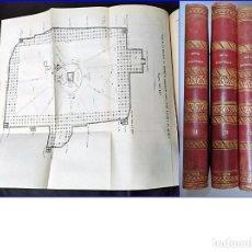 Libros antiguos: AÑO 1856: REVUE BRITANNIQUE. 3 ELEGANTES TOMOS DEL SIGLO XIX. PÁGINAS DESPLEGABLES.. Lote 205721460