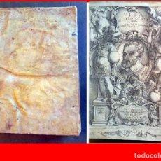 Libros antiguos: AÑO 1567: VIDA DE CARLOS V. CON PRECIOSO FRONTISPICIO. SIGLO XVIII.. Lote 205833398