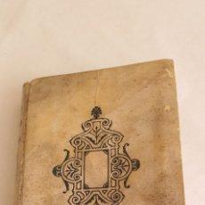 Libros antiguos: LIBRO ANTIGUO HISTORIA DE GIL BLAS DE SANTILLANA 3-4. TOMO III DE PERGAMINO. Lote 206251863