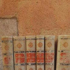Libros antiguos: 6 TOMOS HISTORIA GENERAL DE ESPAÑA 1883-1885. Lote 206263183