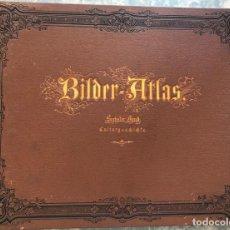 Libros antiguos: ATLAS DE IMÁGENES. HISTORIA CULTURAL. (EN ALEMÁN), HACIA 1860. BROCKHAUS. Lote 206376788