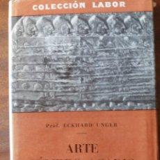 Libros antiguos: ARTE SUMERO-ACADIO 1931. Lote 206458052