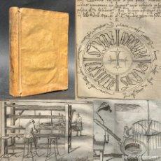 Libros antiguos: 1755 - GRABADOS - FABRICACION DE VELAS - PALEOGRAFIA ESPAÑOLA - LAS ALHAJAS -. Lote 207065842