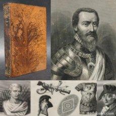 Libros antiguos: 1867 - HISTORIA UNIVERSA - DUQUE DE ALBA - CICERÓN - GRABADOS - HISTORIA MILITAR. Lote 207109502