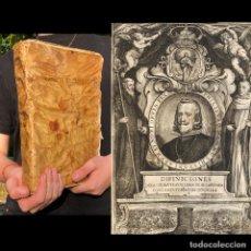 Libros antiguos: 1662 - DEFINICIONES DE LA ORDEN Y CAVALLERIA DE ALCANTARA E HISTORIA DELLA - EXTREMADURA. Lote 207126347